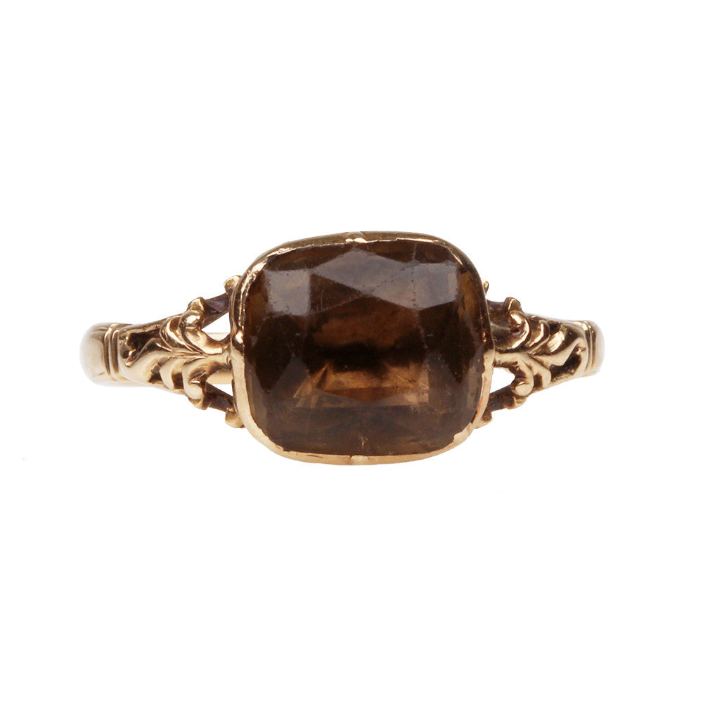 Georgian Citrine Ring