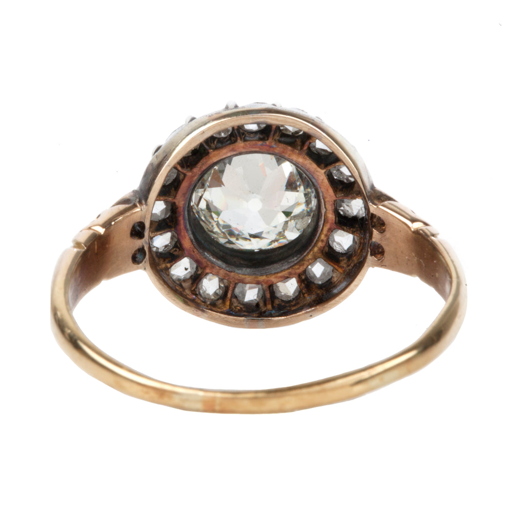 Late Victorian Era Diamond Cluster Ring