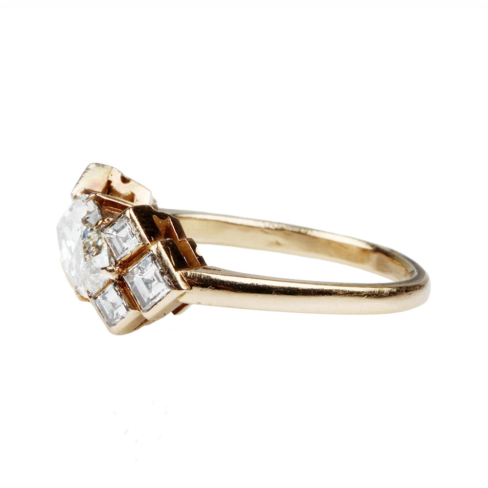 Marquise Diamond Seven Stone Ring