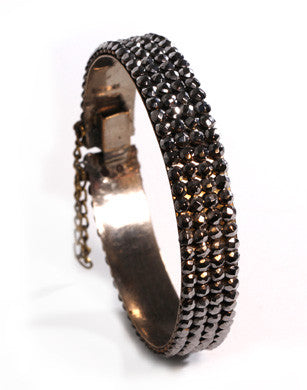 Cut Steel Bangle