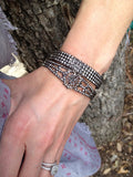 Cut Steel Ornate Bracelet