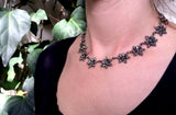 Victorian Cut Steel Necklace