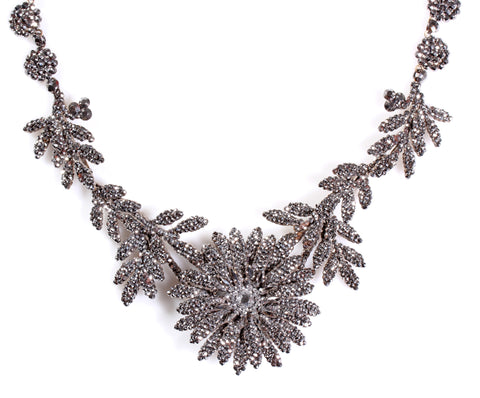 Early 19th Century Cut Steel Necklace