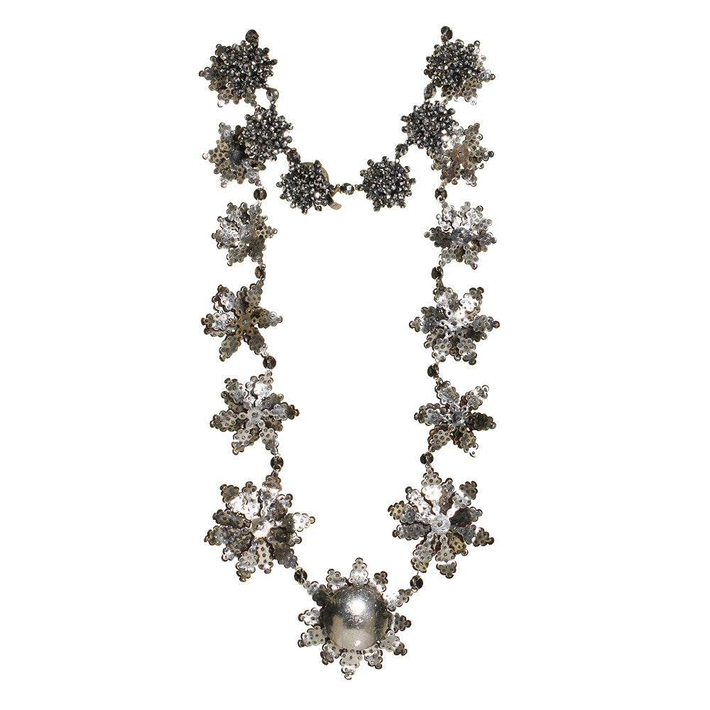 Early Victorian Cut Steel Necklace