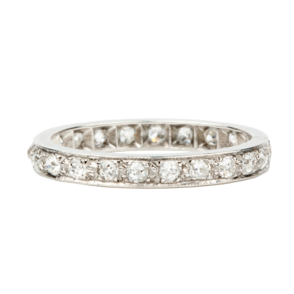 Art Deco Era Diamond Eternity Band