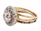 Antique Halo Diamond Ring