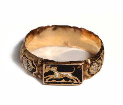 Enamel Compartment Ring