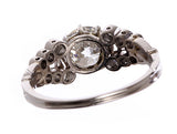 Belle Epoque Platinum Diamond Ring