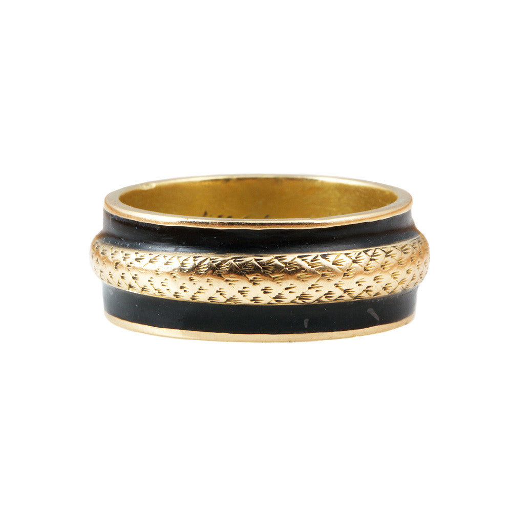 Early 19th Century Mourning Snake Ring