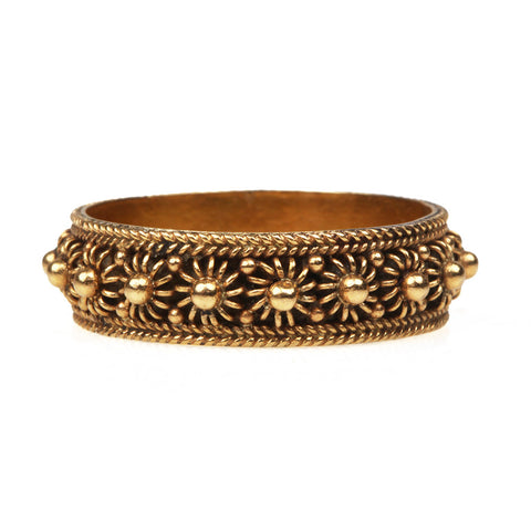 Georgian Gold Cannetille Band