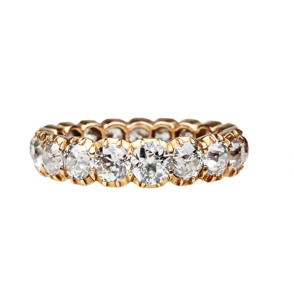 Signature Cutaway Diamond Eternity Band
