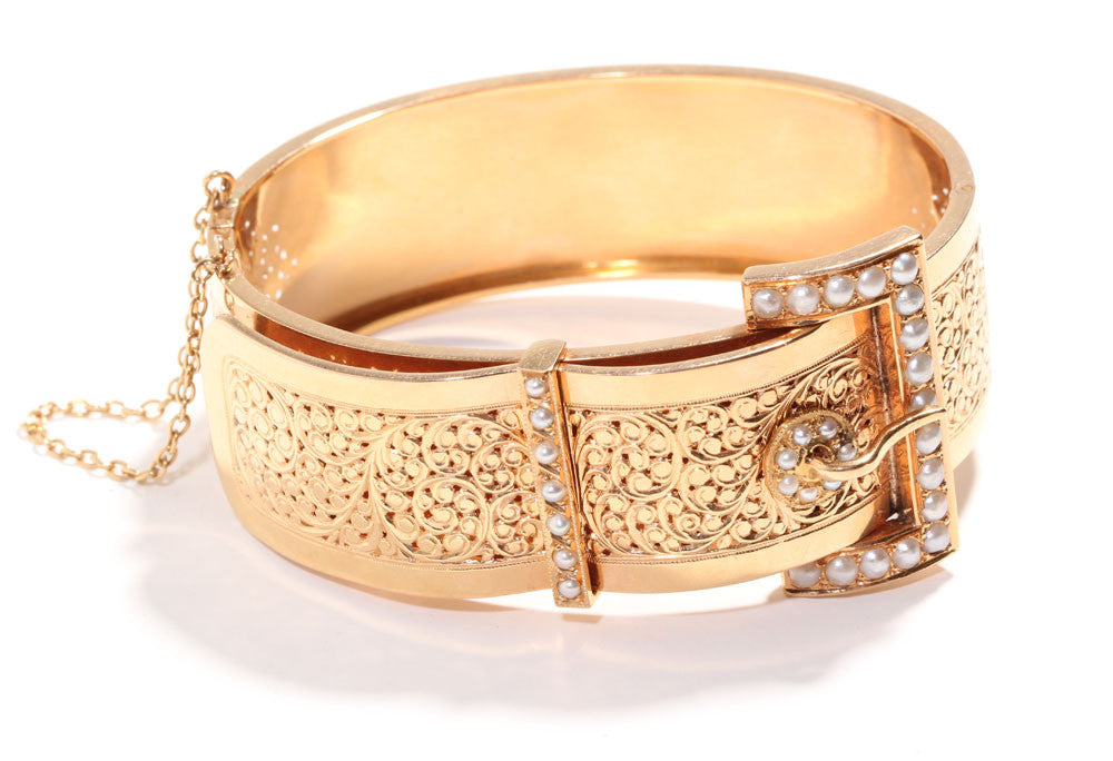 French Buckle Bangle