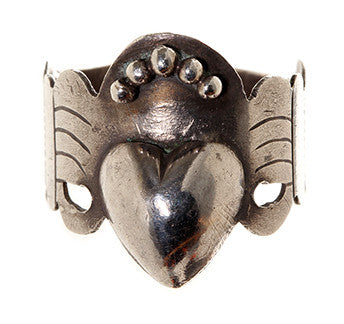 French Loyalty in Love Ring
