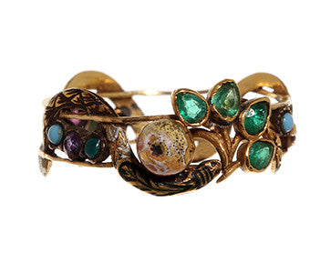 Garden Of Eden Serpent Ring