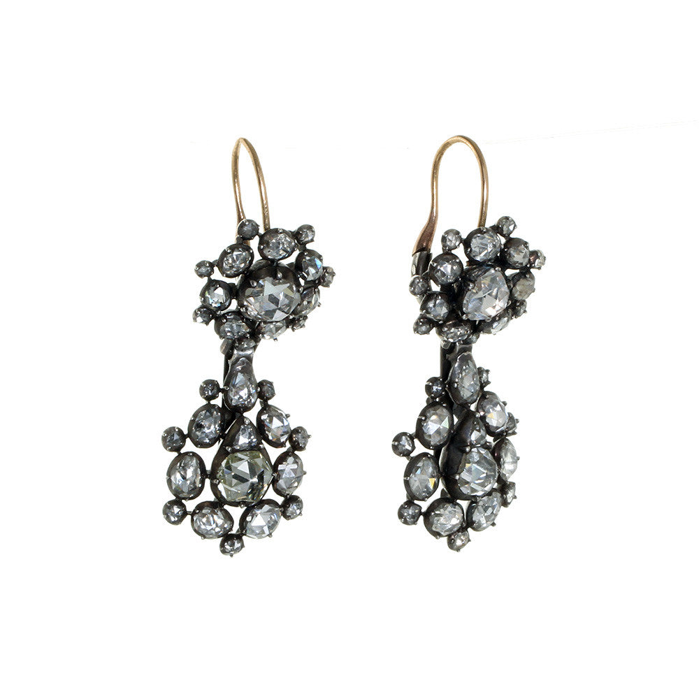 Georgian Diamond Earrings