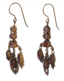 Gilded Topaz Earrings