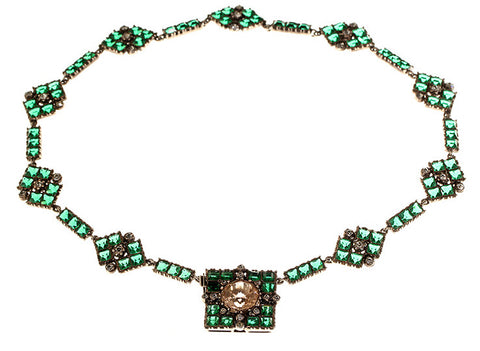 Victorian Paste Necklace