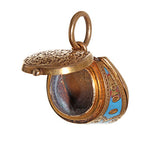 Victorian Gold and Enamel Horse Hoof Locket