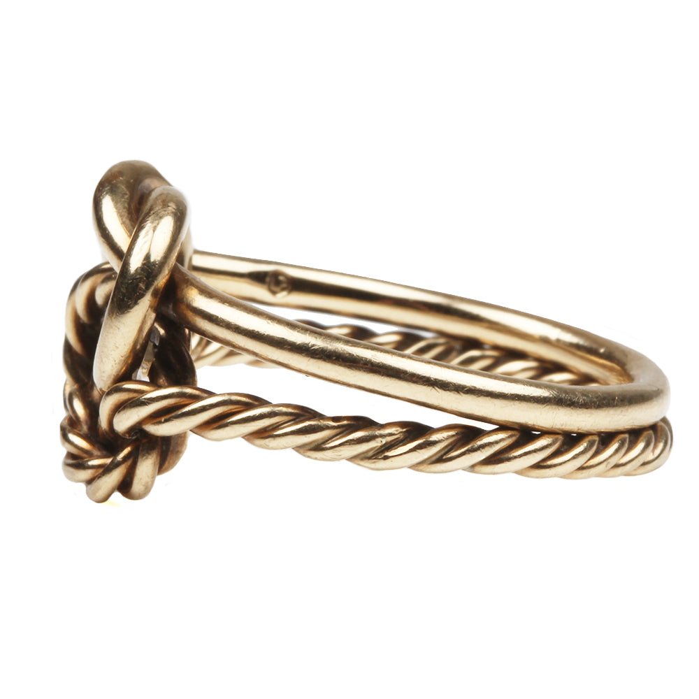 Vintage Lover's Knot Ring