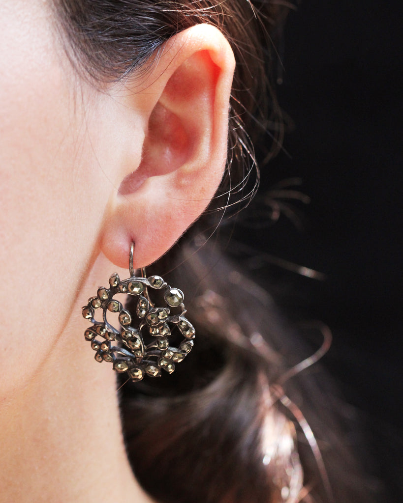 18th Century Pyrite Earrings