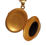 French 'Man In The Moon' Cameo Locket