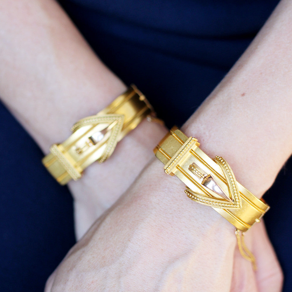 Victorian Era Matched Set Bracelets