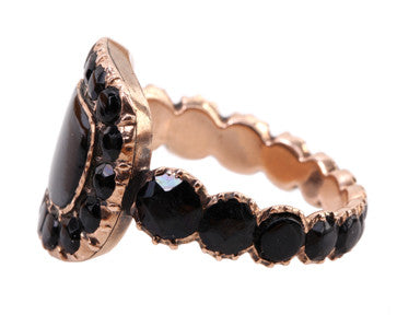 Onyx Remembrance Ring