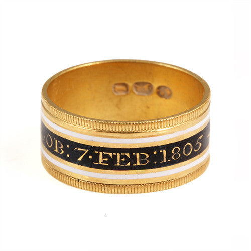 English Mourning Ring