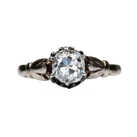 Late 19th Century Diamond Solitaire Ring