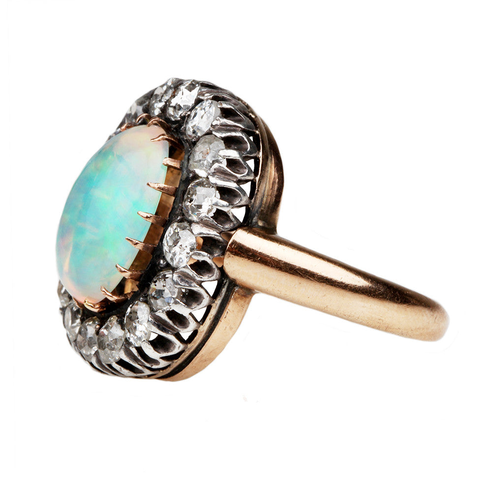 Late 19th Century Opal Ring