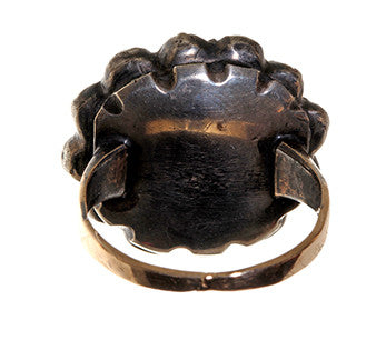 Georgian Paste Cluster Ring