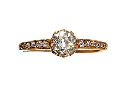 Late Victorian Engagement Ring