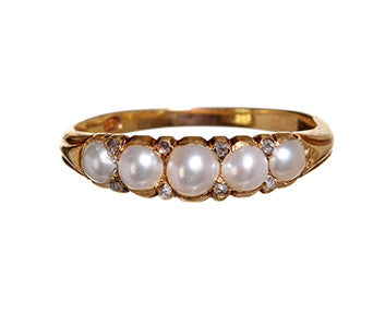 Pearl and Diamond Band