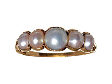Georgian Natural Pearl Band