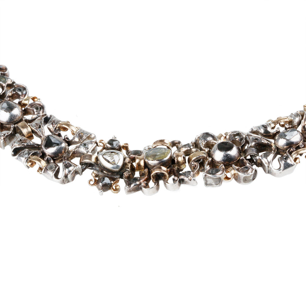 18Th Century Portuguese Diamond Necklace