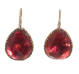 Queen Ann Cherry Paste Earrings