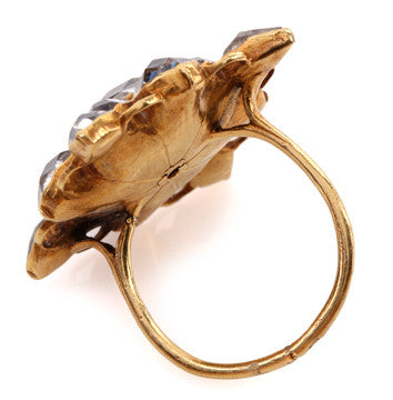 Early 18th Century French Crystal Ring