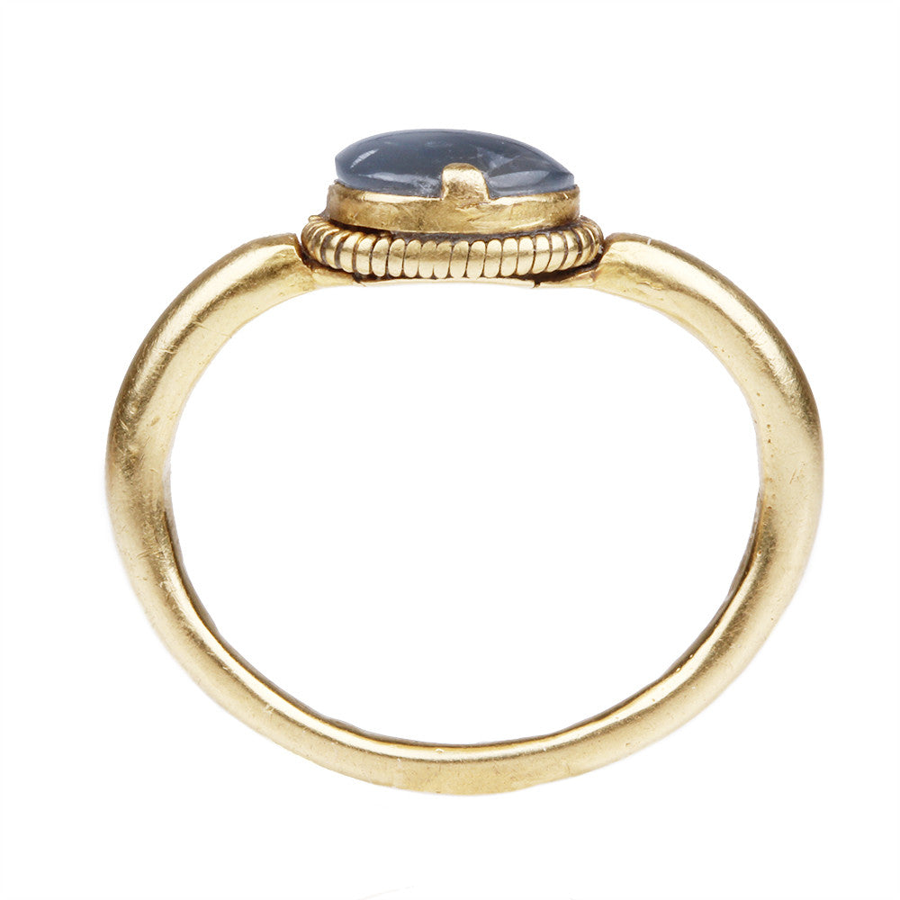 Ancient Sapphire and Gold Ring