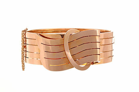 Victorian Rose Gold Bangle