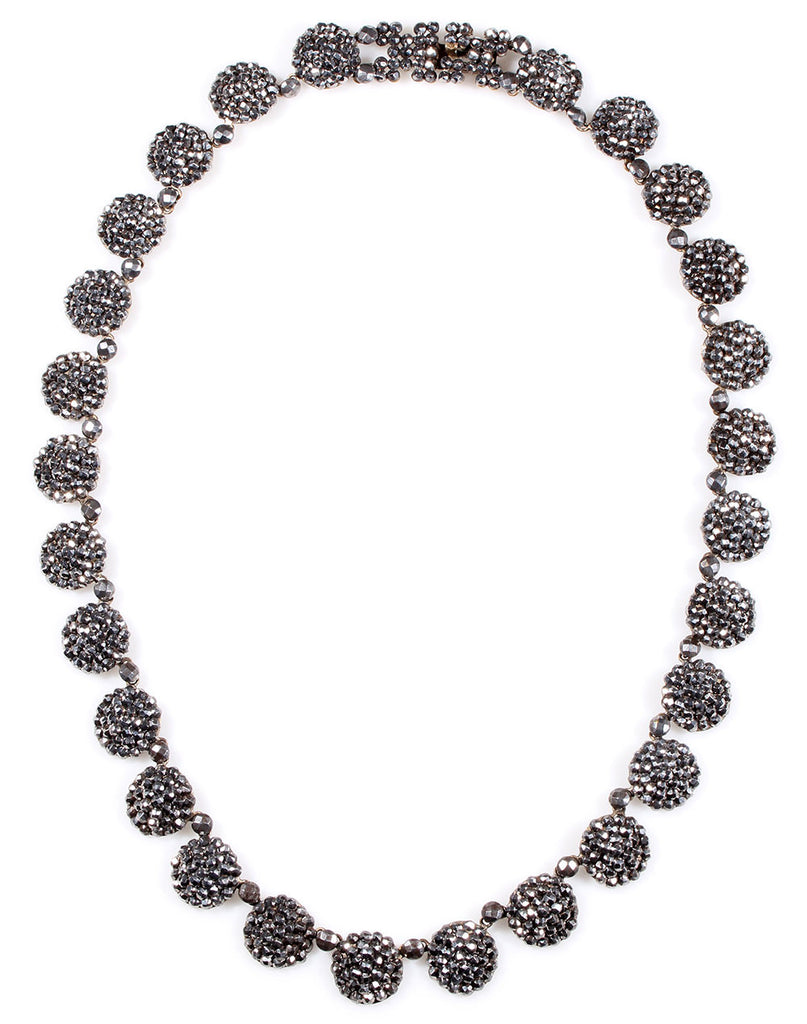 19th Century Cut Steel Necklace