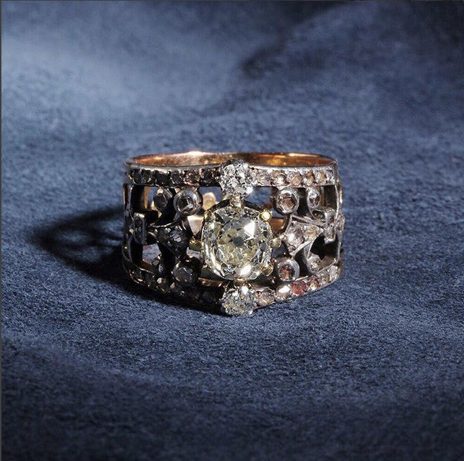 French 19th Century Diamond Ring
