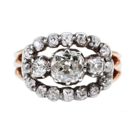 Early Victorian Diamond Ring