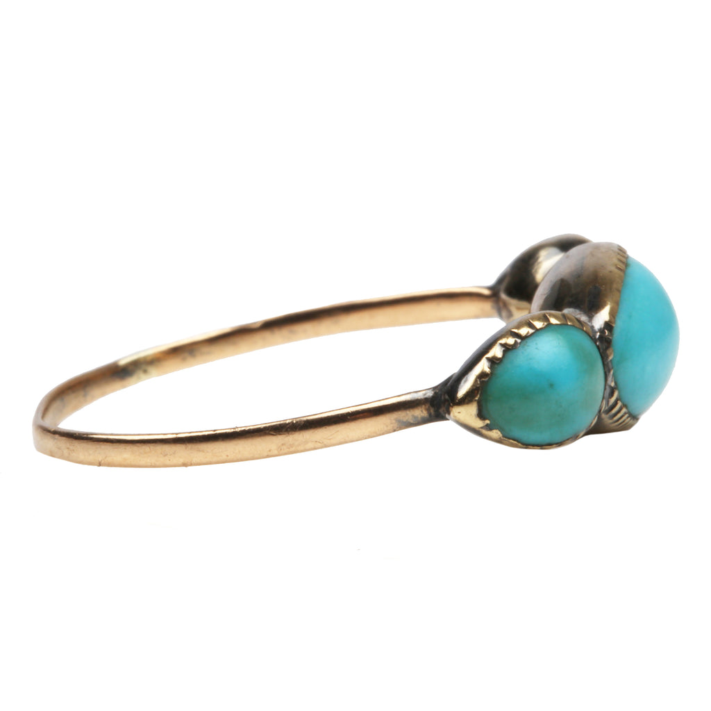 Georgian Era Turquoise Ring