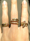 Victorian Sea Serpent Ring