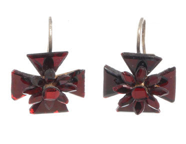 Vauxhall Maltese Cross Earrings