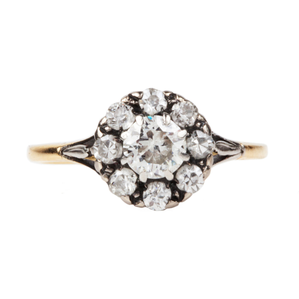 Early 20th Century Diamond Cluster Ring
