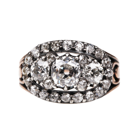 Early 19th Century Diamond Cluster Ring