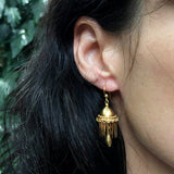 Victorian Era Tassel Drop Earrings