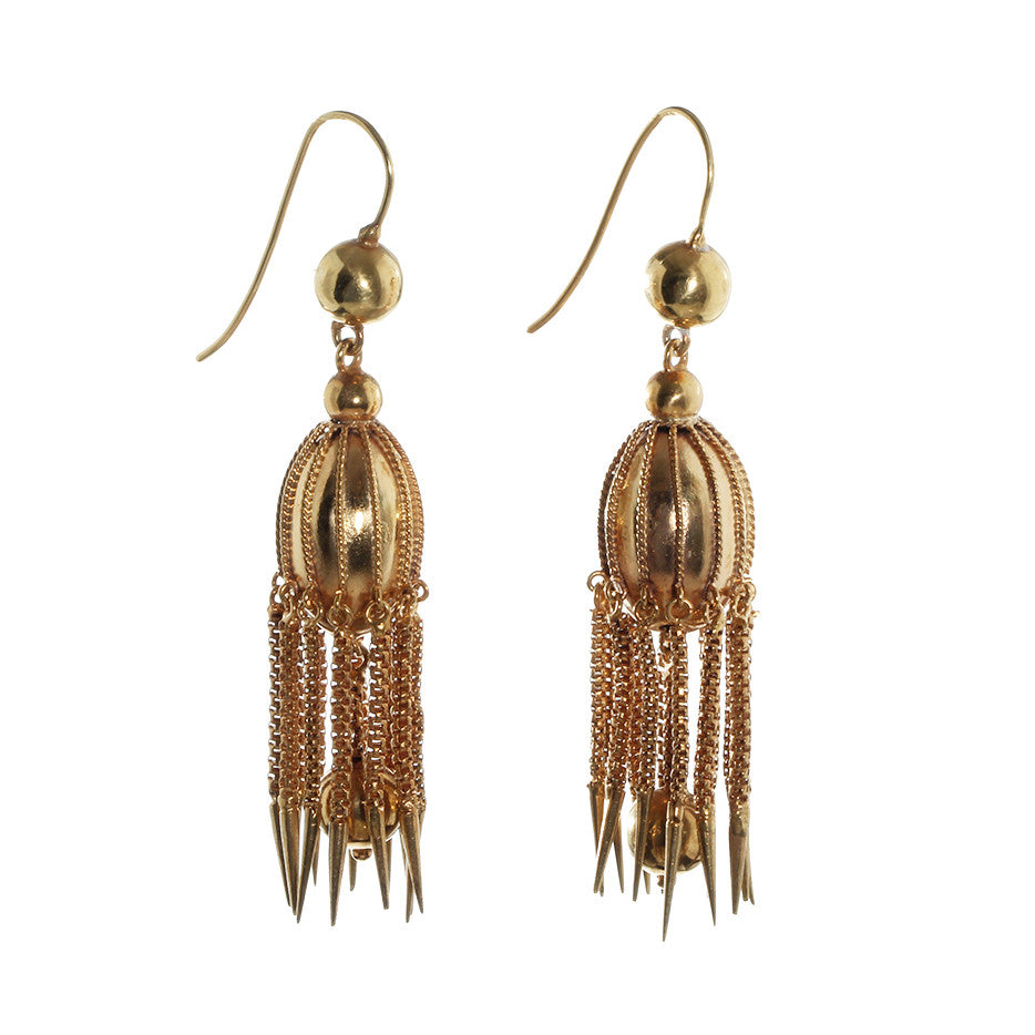 Victorian Era Jelly Fish Earring