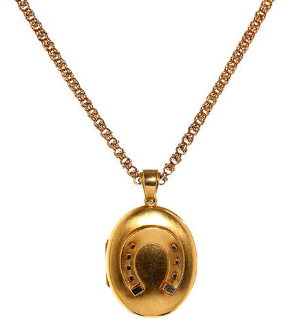 Victorian Good Luck Locket Circa 1874